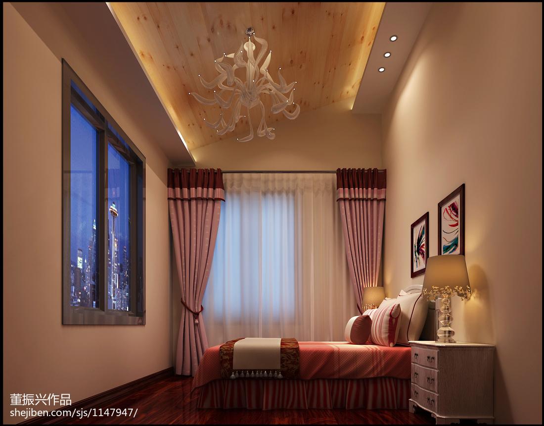 梦幻复古欧式卧室设计