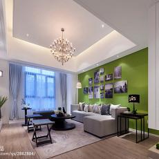 精美130平米现代别墅客厅装饰图片大全