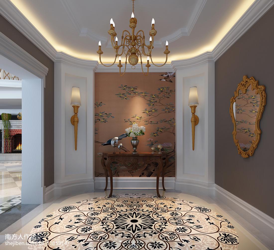 欧式风格客厅室内装饰设计效果图片