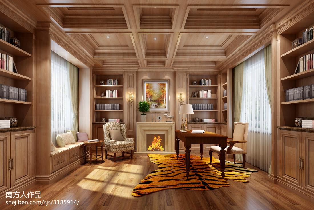 精选欧式风格餐厅室内装饰设计效果图