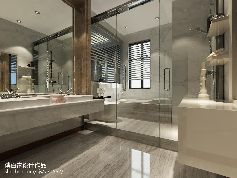 现代风格140平米四居室效果图大全