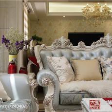 精选面积125平别墅客厅欧式装修欣赏图片大全