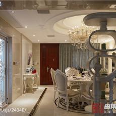 精选面积117平别墅餐厅欧式装修图