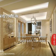 豪华欧式风格三室两厅装修图片欣赏