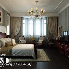 别墅卧室现代装修实景图片大全