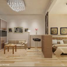 201885平米现代小户型客厅装饰图片大全
