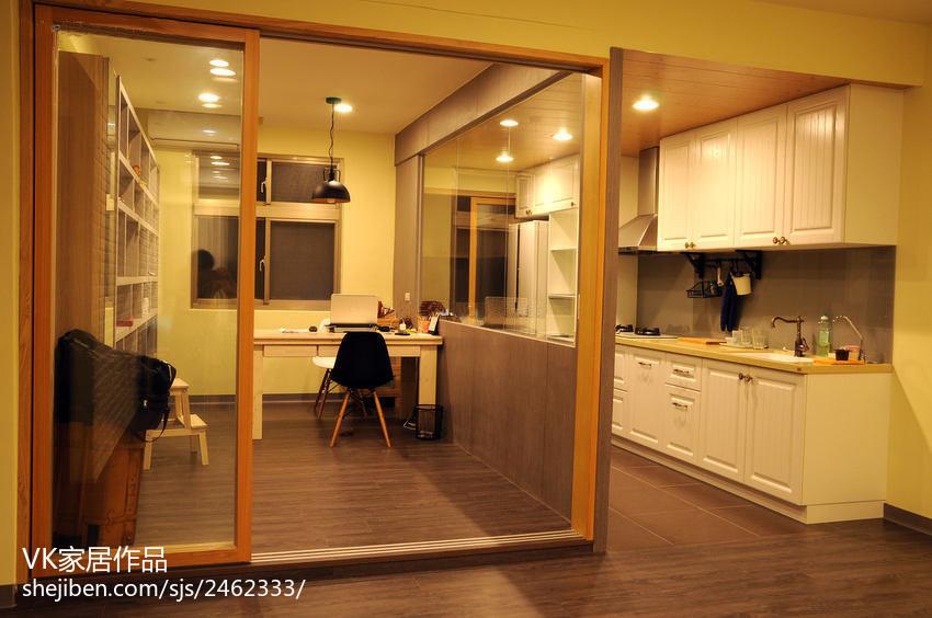 精美78平米欧式小户型厨房装饰图