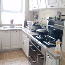 复式厨房美式装修效果图