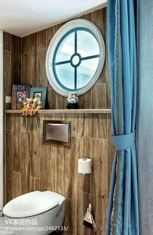 热门面积76平小户型卫生间欧式装修设计效果图片欣赏