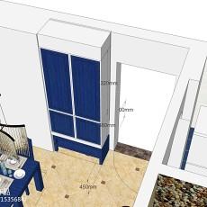 玄关地砖效果图