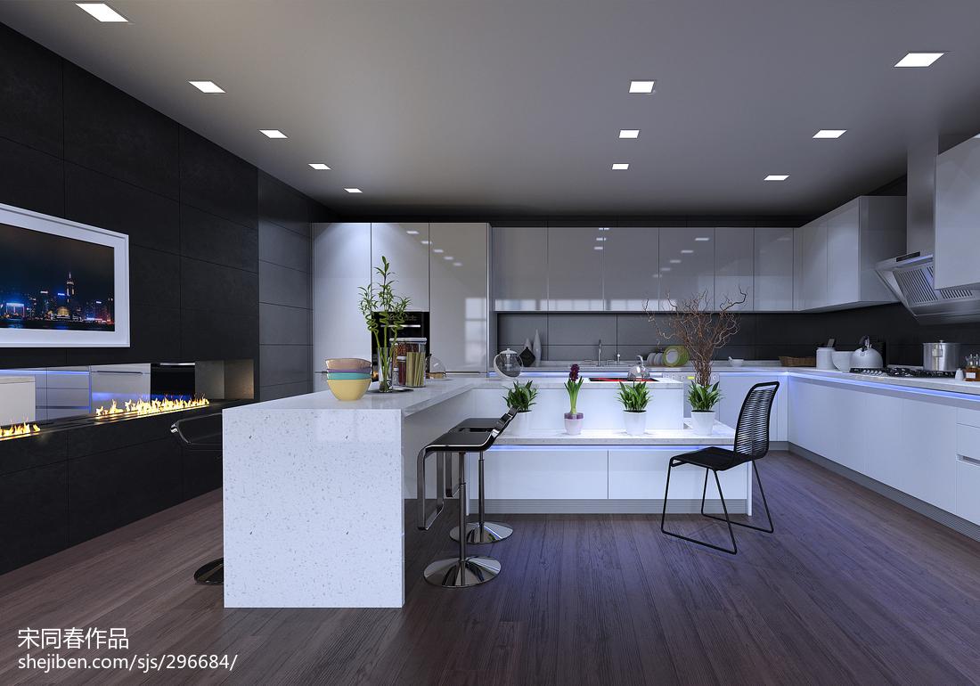 精选现代三居厨房装修欣赏图