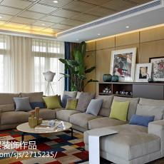 2018精选别墅客厅现代装修欣赏图片