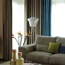 热门别墅客厅现代装修实景图片欣赏