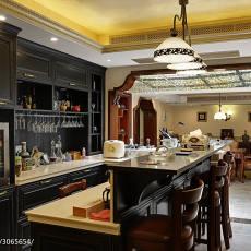 热门别墅餐厅美式效果图