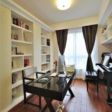 精美面积102平现代三居书房装修设计效果图