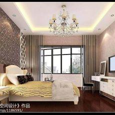热门四居卧室现代装修设计效果图
