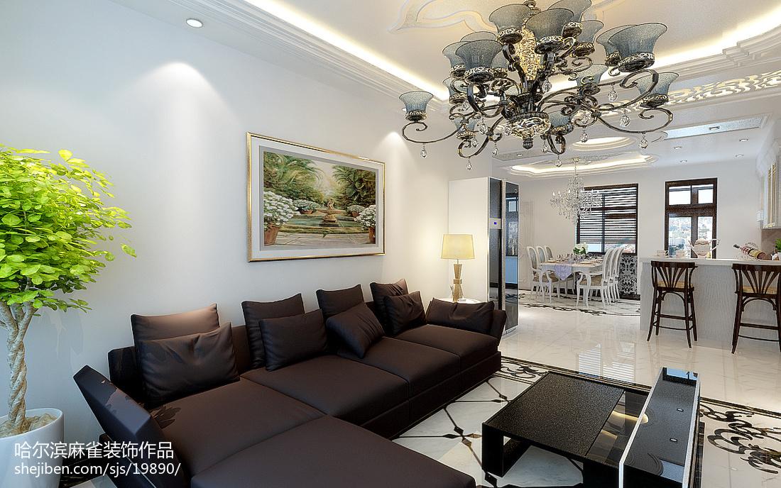 精美现代一居客厅装修图片欣赏