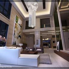 144平米现代复式客厅装饰图片大全