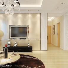 2018精选大小109平现代三居客厅装修图片