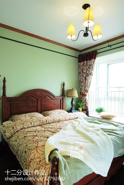 热门三居卧室美式装修欣赏图片大全