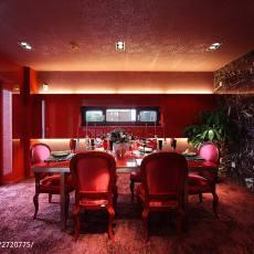 2018精选138平米现代别墅餐厅装修欣赏图片