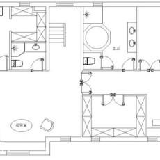 精美123平米现代别墅客厅装修实景图片