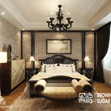 大小100平欧式三居卧室装饰图