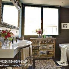 欧式卫生间浴室装修效果图
