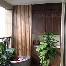 2018精选143平米现代别墅阳台装饰图片