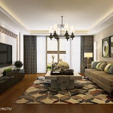 精选90平米现代小户型客厅装饰图