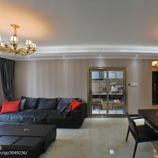 热门78平米二居客厅欧式装修设计效果图