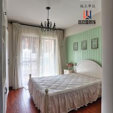 101平米三居卧室美式装修图
