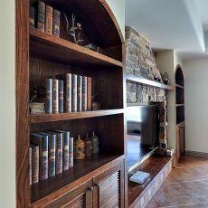 精选面积102平美式三居客厅装修图片
