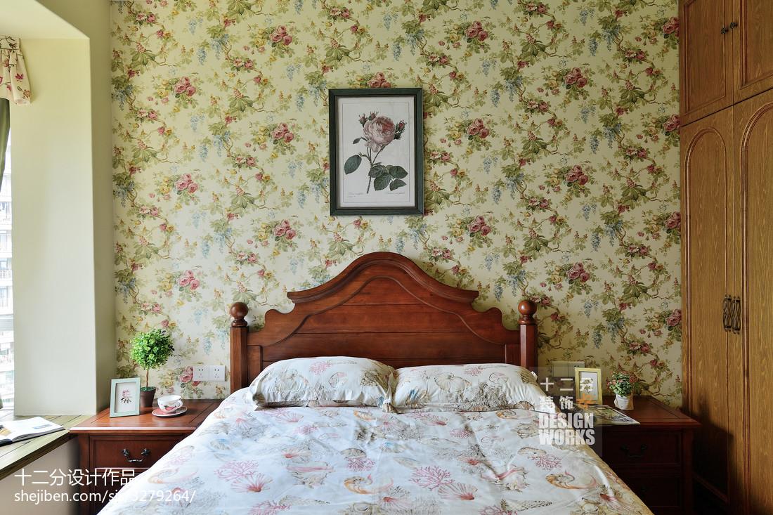 精美113平米田园复式卧室装修图片欣赏