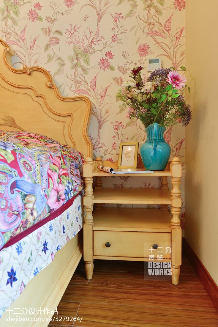 热门130平米田园复式卧室实景图片欣赏