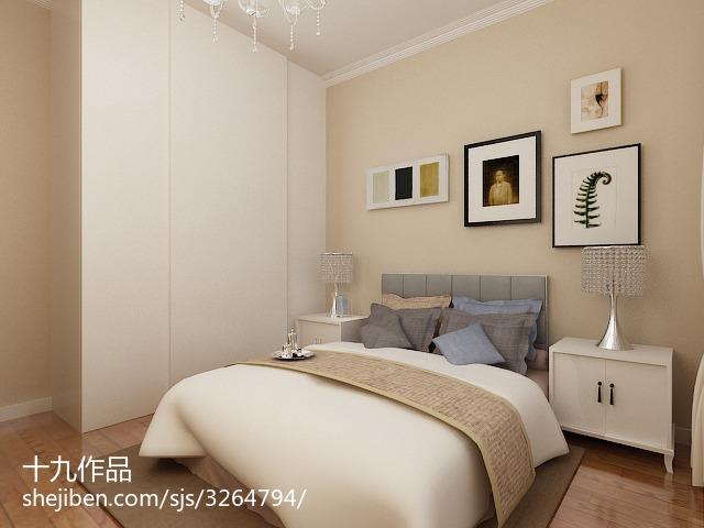 精选101平方三居卧室现代装饰图片欣赏