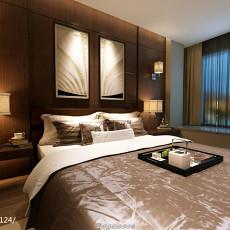 精选99平米三居卧室现代设计效果图