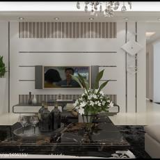 2018106平方三居客厅现代装修实景图片欣赏