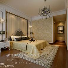 精选面积92平欧式三居卧室装饰图