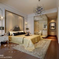精选大小102平欧式三居卧室装饰图片
