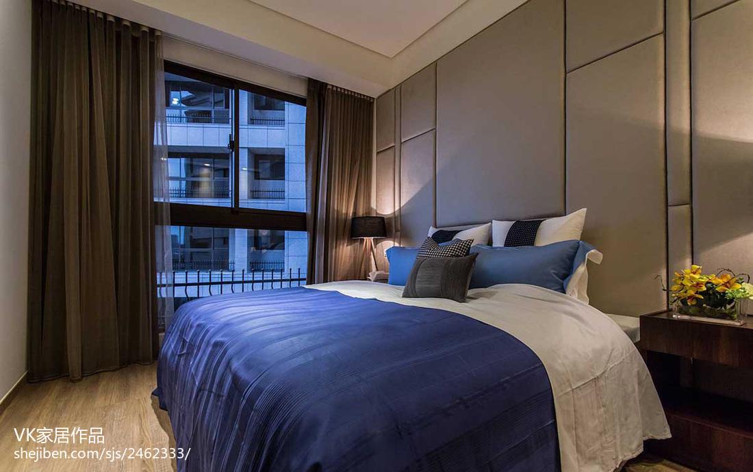 精美现代小户型卧室实景图片欣赏