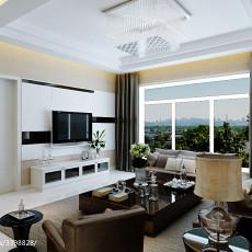 热门87平米二居客厅现代装修图片