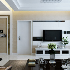 精美面积78平现代二居客厅装修实景图片