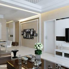 精选面积83平现代二居客厅装修实景图片欣赏