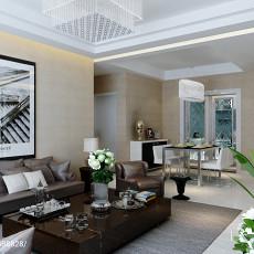 精美大小86平现代二居客厅装修欣赏图