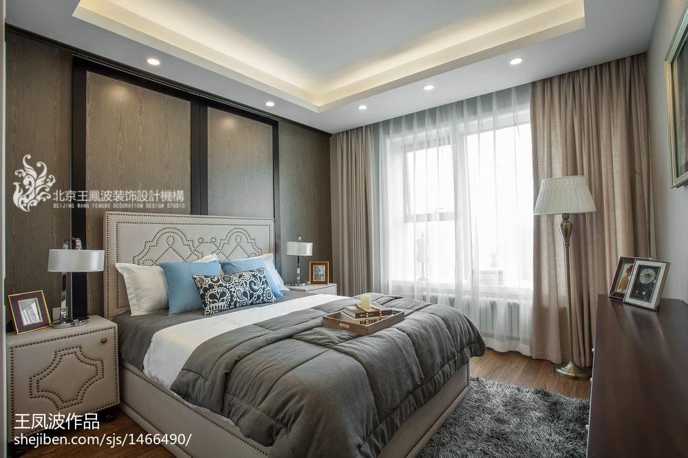 清新现代卧室装饰设计图