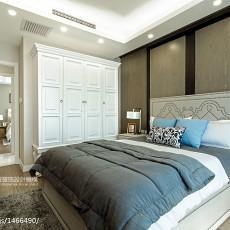 清新现代派卧室装修效果图