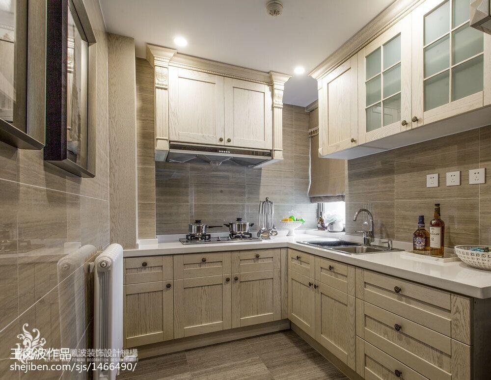 2018现代厨房实景图片欣赏