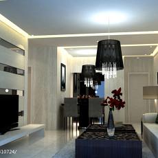 精美小户型客厅现代装饰图片大全