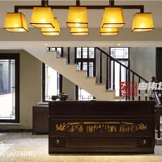 热门111平米中式别墅客厅装饰图片
